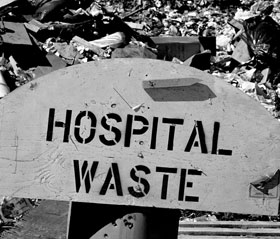 Hospital waste by osama fayyaz