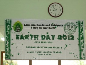 Earthday at iiui