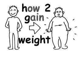 gain weight fast