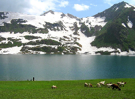 profile of dudipatsar lake