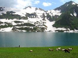 profile of dudipatsar lake