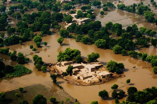 Climate change and disasters in pakistan