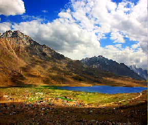 Ecological profile of Shandur lake