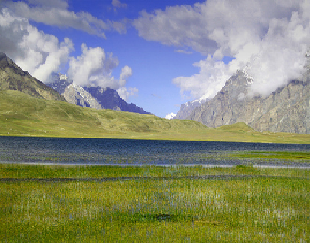 profile of Shandur lake