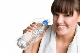 water treatment on acne scars