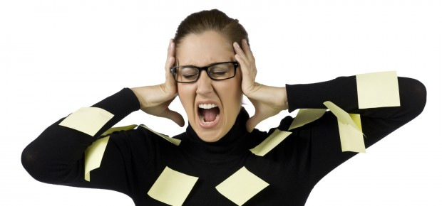 auses and symptoms of stress