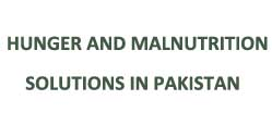 Hunger and Malnutrition Solutions in Pakistan