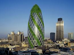 green building rising